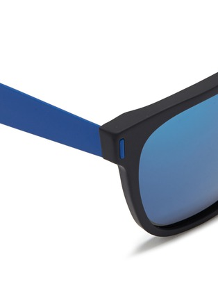 Detail View - Click To Enlarge - SUPER - 'Flat Top' mirror acetate sunglasses
