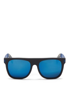 SUPER 'Flat Top' mirror acetate sunglasses