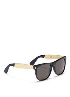 SUPER'Classic' flat top acetate sunglasses