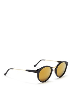 SUPER'Panamá' metal temple acetate sunglasses