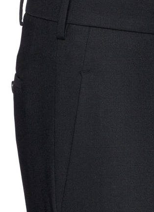 Neil Barrett - Zip cuff bistretch gabardine cropped pants