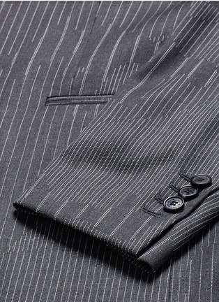 - Neil Barrett - Slim fit camouflage pinstripe blazer