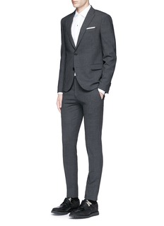 Neil BarrettSkinny fit pinstripe stretch wool suit