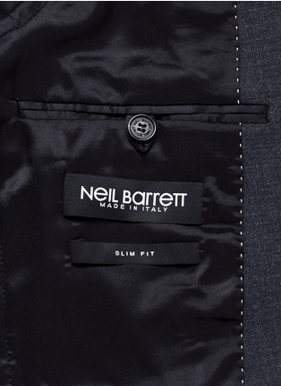 - Neil Barrett - Slim fit bistretch gabardine suit