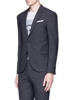Slim fit bistretch gabardine suit