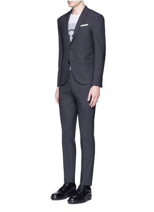 Figure View - Click To Enlarge - Neil Barrett - Slim fit bistretch gabardine suit