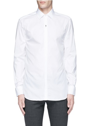 Main View - Click To Enlarge - Neil Barrett - Thunderbolt pin tuxedo shirt