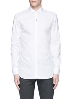 Neil BarrettThunderbolt pin tuxedo shirt