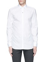 Thunderbolt pin tuxedo shirt