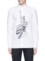 'Liberty President' print shirt