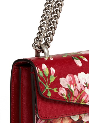 - Gucci - 'Dionysus' small floral print chain leather bag