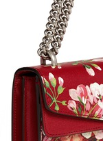 'Dionysus' small floral print chain leather bag