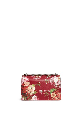 Back View - Click To Enlarge - Gucci - 'Dionysus' small floral print chain leather bag