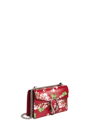 Figure View - Click To Enlarge - Gucci - 'Dionysus' small floral print chain leather bag