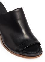 'Tilda' leather mule sandals