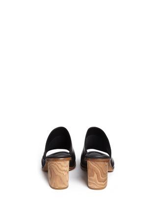 Back View - Click To Enlarge - Vince - 'Tilda' leather mule sandals