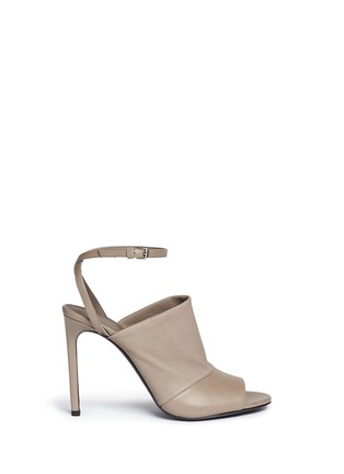 Vince - 'Grace' peep toe stretch leather pumps