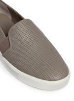'Blair 5' perforated leather skate slip-ons