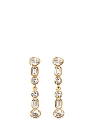 Main View - Click To Enlarge - Kenneth Jay Lane - Mix crystal drop earrings