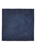 'Flying Kenzo' Dévoré print cotton-modal scarf