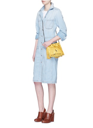 Figure View - Click To Enlarge - Stella McCartney - Washed cotton denim dress