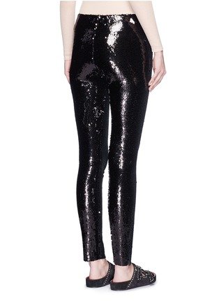 Back View - Click To Enlarge - Isabel Marant - 'Izard' sequin leggings