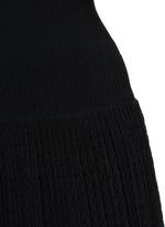 'Tango' stripe panel knit dress