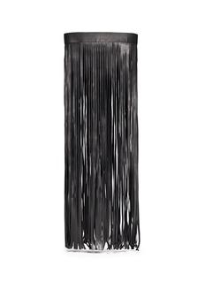 NEIL BARRETTMaxi fringe leather belt