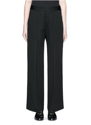 Neil Barrett - Pleat front slouch fit pants