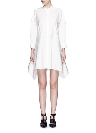 Main View - Click To Enlarge - Neil Barrett - Oversized stretch poplin shirt dress