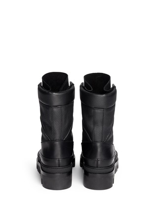 Balenciaga-Platform leather desert boots