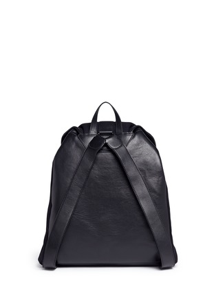 Back View - Click To Enlarge - Balenciaga - 'Traveller' treck cotton canvas backpack