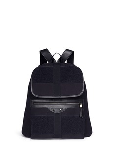 Balenciaga 'Traveller' treck cotton canvas backpack
