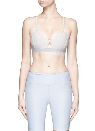 Main View - Click To Enlarge - Outdoor Voices - 'Steeplechase' sports bra