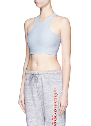 Front View - Click To Enlarge - Outdoor Voices - 'Athena' cropped top
