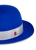 'Traveller Summer' rabbit furfelt hat