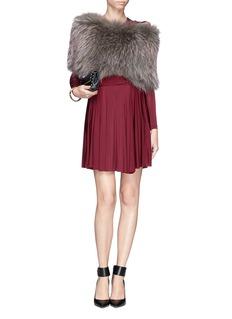 HOCKLEYRaccoon fur shoulder wrap