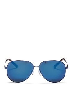 Michael Kors 'Kendall I' metal aviator sunglasses