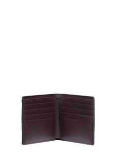 Anya Hindmarch 'Victory' embossed leather bifold wallet