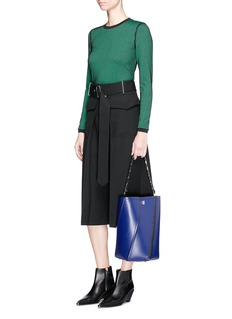 Proenza Schouler 'Hex' medium leather bucket bag