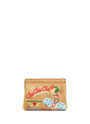 Main View - Click To Enlarge - Charlotte Olympia - 'Cha Cha Cha Maggie' embroidered clutch