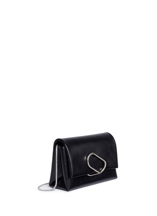 Detail View - Click To Enlarge - 3.1 Phillip Lim - 'Alix' paperclip flap leather clutch