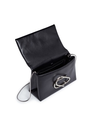 - 3.1 Phillip Lim - 'Alix' paperclip flap leather clutch