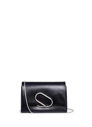 Main View - Click To Enlarge - 3.1 Phillip Lim - 'Alix' paperclip flap leather clutch