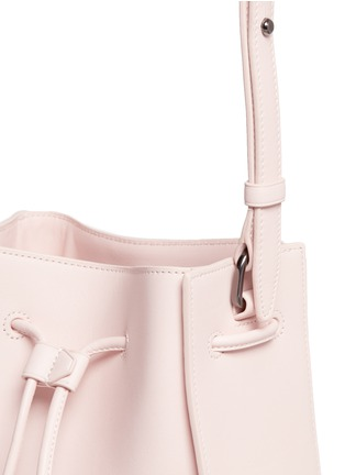 - 3.1 Phillip Lim - 'Soleil' mini leather drawstring bucket bag