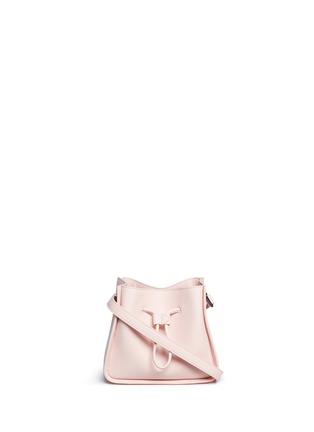 Main View - Click To Enlarge - 3.1 Phillip Lim - 'Soleil' mini leather drawstring bucket bag