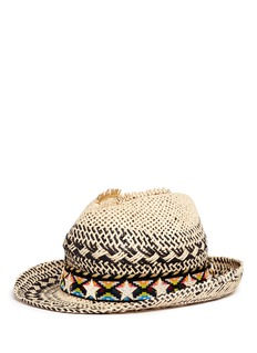 VennaZircon star tribal band paper straw hat