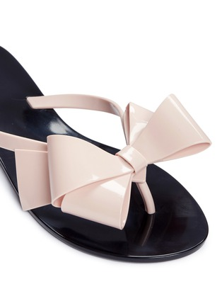 Detail View - Click To Enlarge - Melissa - 'Harmonic Bow III' flip flops