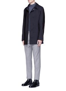 SealupLoro Piana Storm System® virgin wool coat