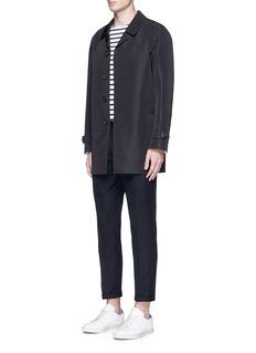 SealupBonded seam Mackintosh coat